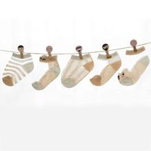 5 Paare Kleinkind Kinder Socken mit Ausschnitt