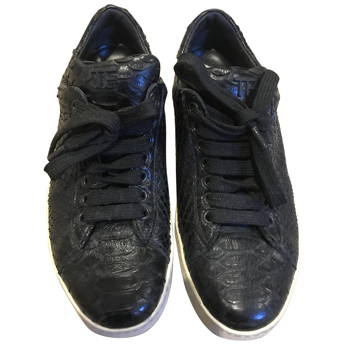Tom Ford \N Sneakers in  Schwarz Python