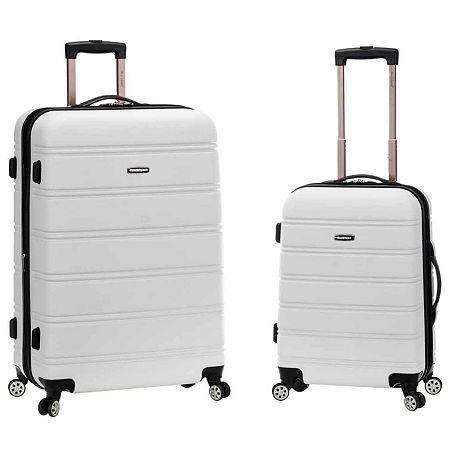 Rockland Melbourne 2-pc. Hardside Spinner Luggage Set, One Size , White