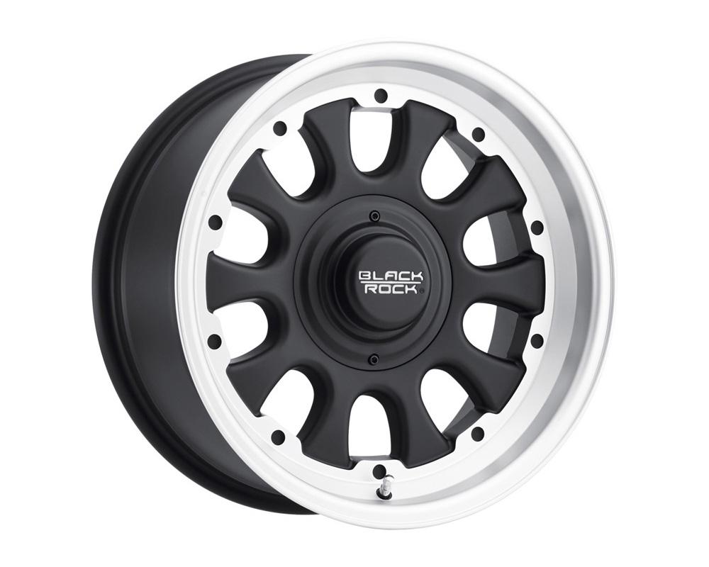 Black Rock Wheels 909S780545 D Window Black w/Tungsten Wheel 17x8 5x114.3/120.65 0
