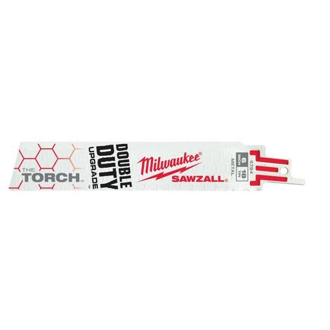 Milwaukee 9 in. 14 TPI THE Torch™ Sawzall® Blade (25 Pack)