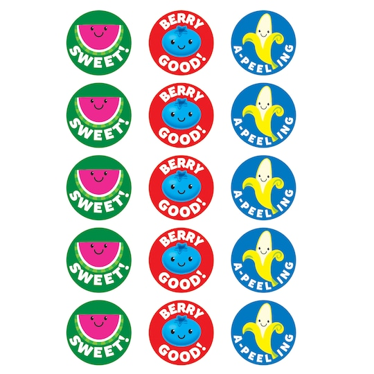 6 Pack of Trend Enterprises® Friendly Fruit Punch Scented Stinky Stickers®, 60Ct. | Michaels®
