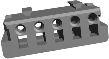 TE Connectivity , AMP CT Female Connector Housing, 2mm Pitch, 6 Way, 1 Row (10)