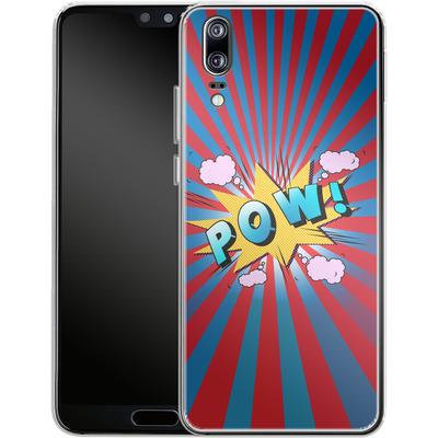 Huawei P20 Silikon Handyhuelle - Pow von Mark Ashkenazi