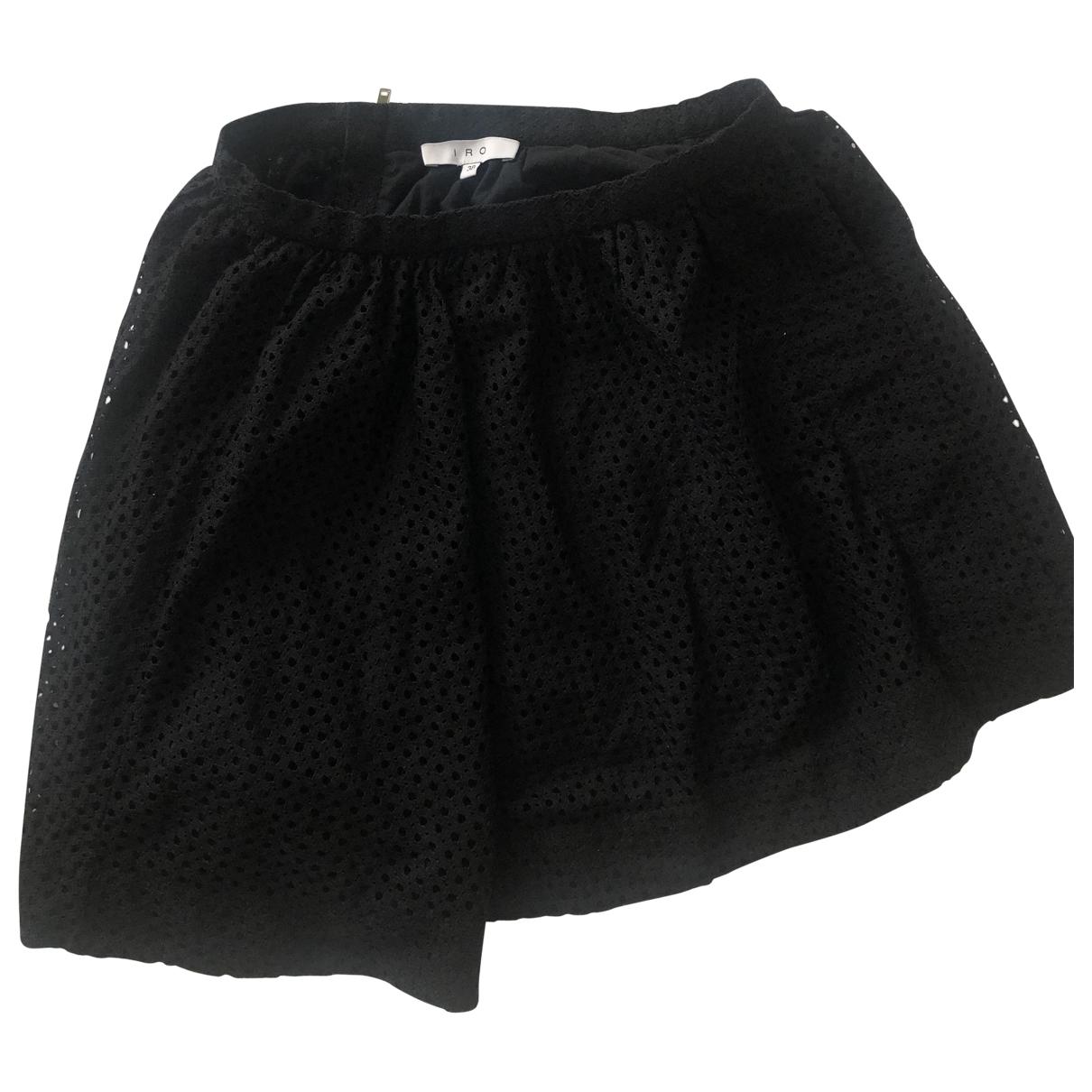 Iro - Jupe   pour femme en coton - noir