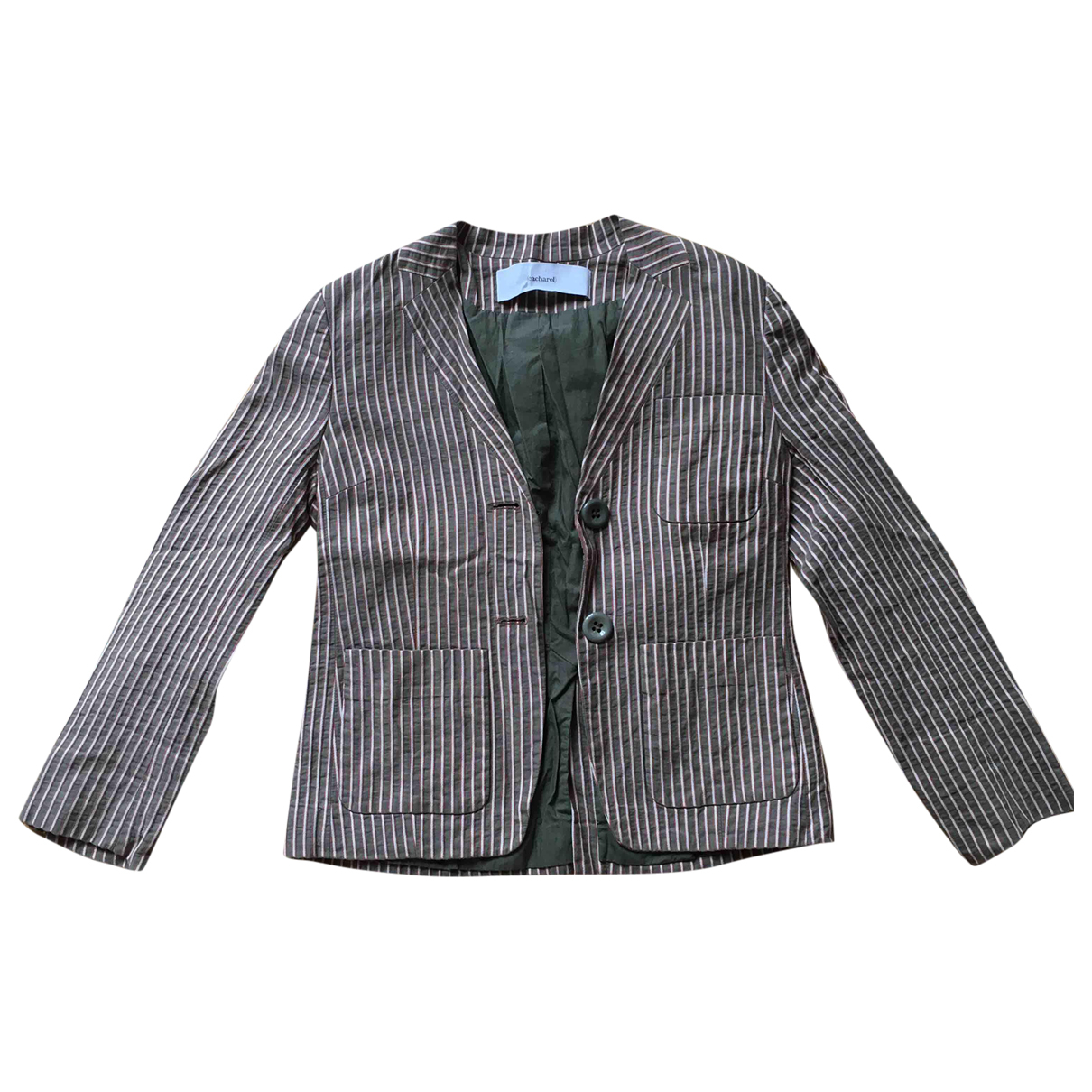 Cacharel - Veste   pour femme en coton - multicolore