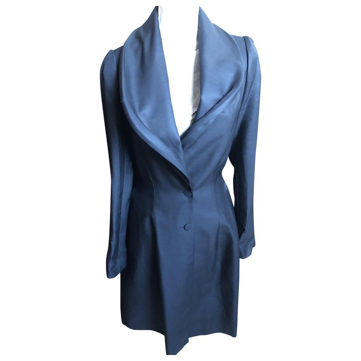 Sophia Kokosalaki - Manteau   pour femme en laine - noir