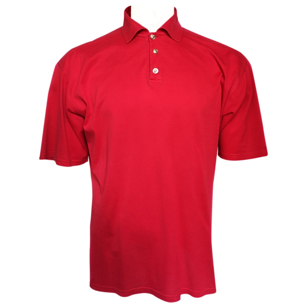 Versus N Red Cotton Polo shirts for Men 52 IT
