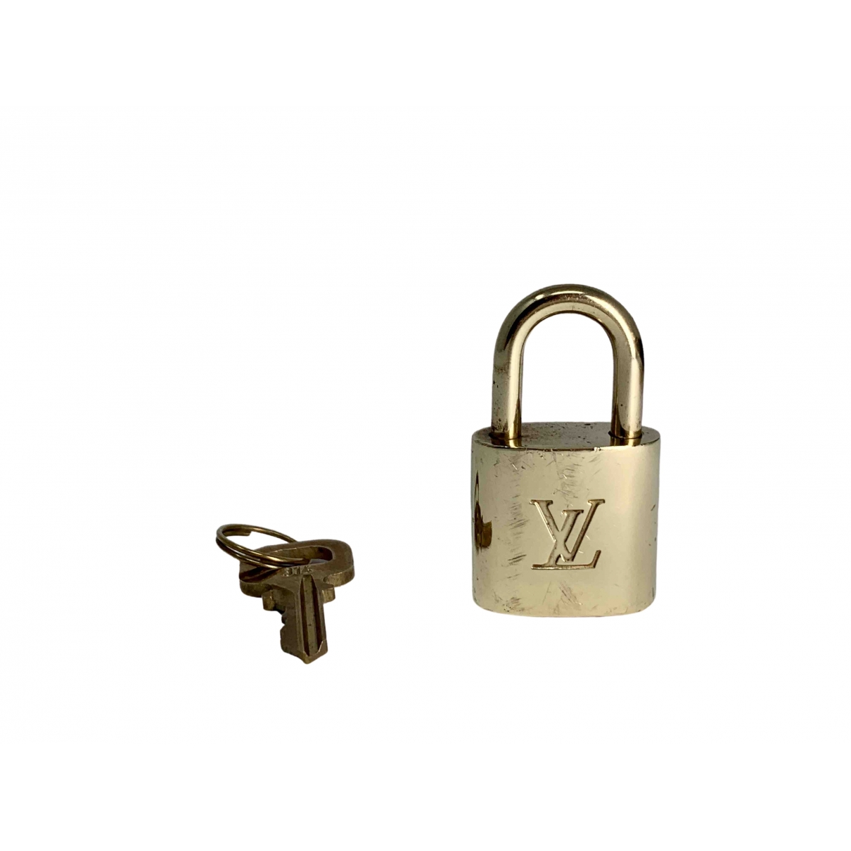 Louis Vuitton Cadenas Gold Metal Bag charms for Women \N
