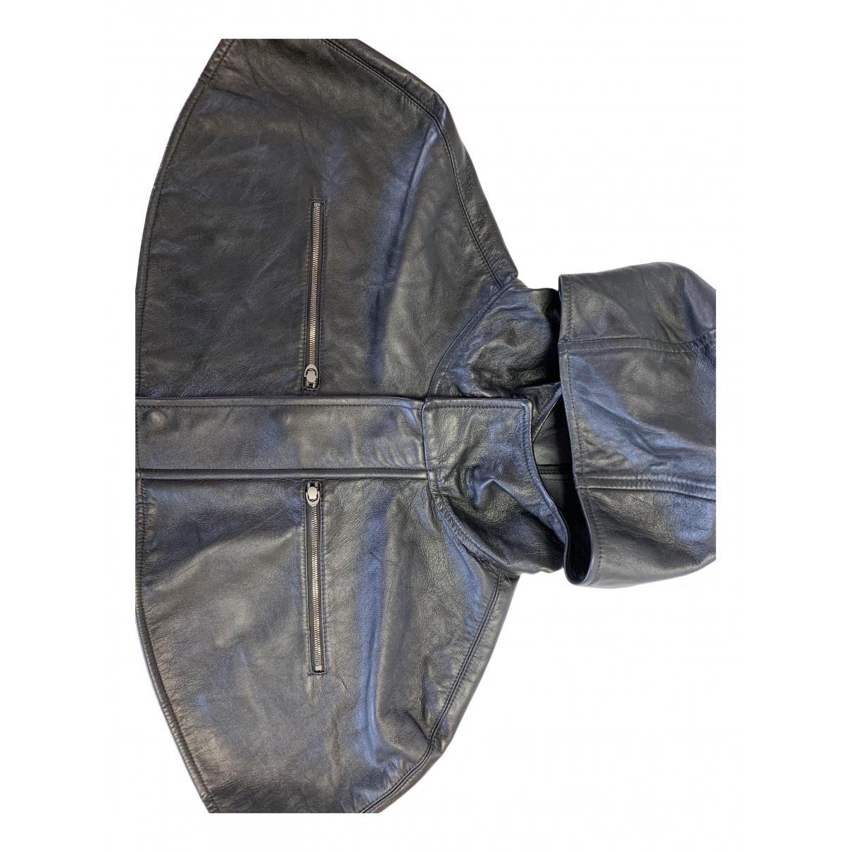 Belstaff - Chapeau & Bonnets   pour homme en cuir - noir