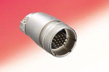 Hirose Circular Connector, 5 contacts Cable Mount M18 Plug, Solder (10)