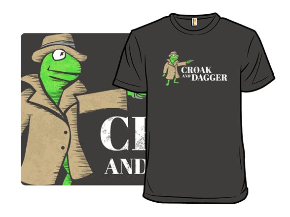 Croak And Dagger T Shirt
