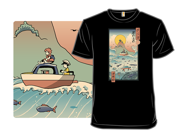 Landscape By The Sea T Shirt