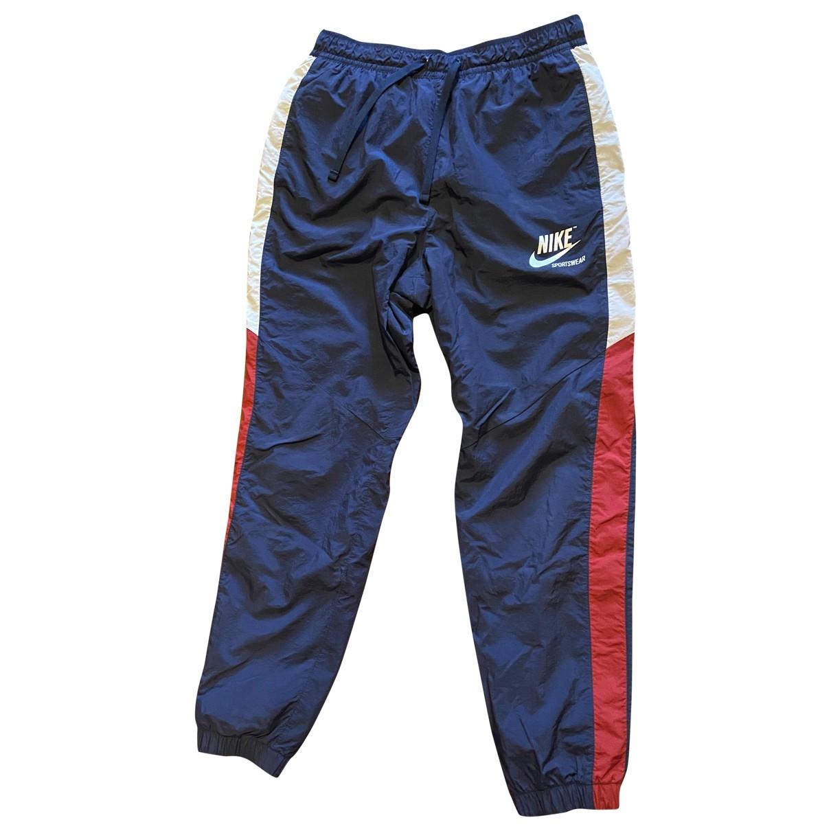 Nike - Pantalon   pour homme - bleu