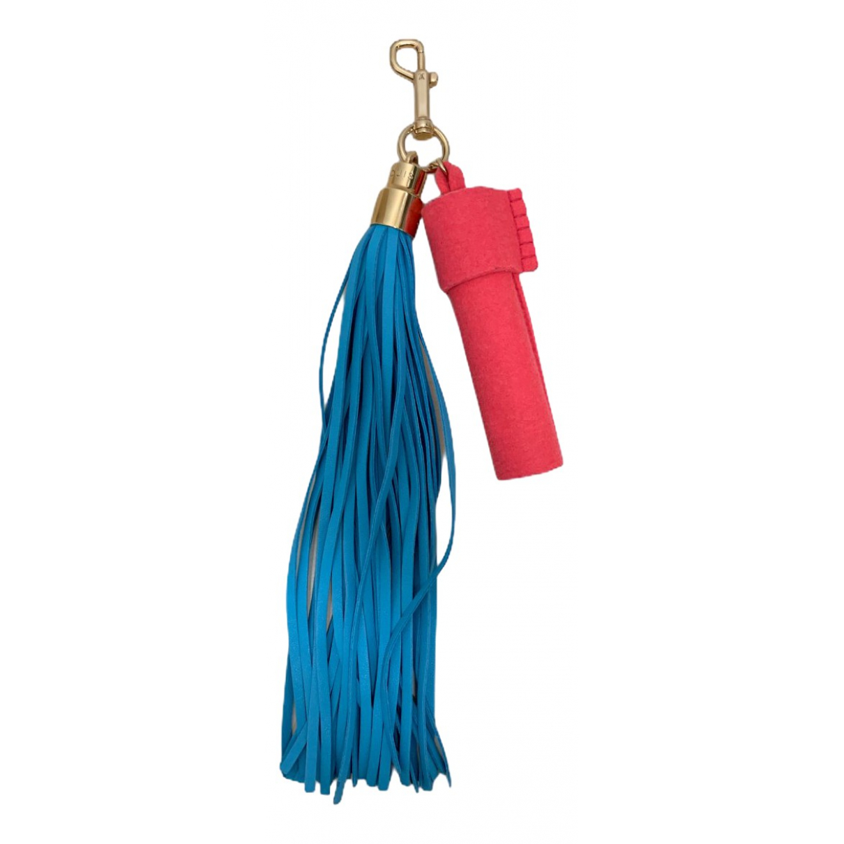 Louis Vuitton - Bijoux de sac Tassel pour femme en cuir - bleu