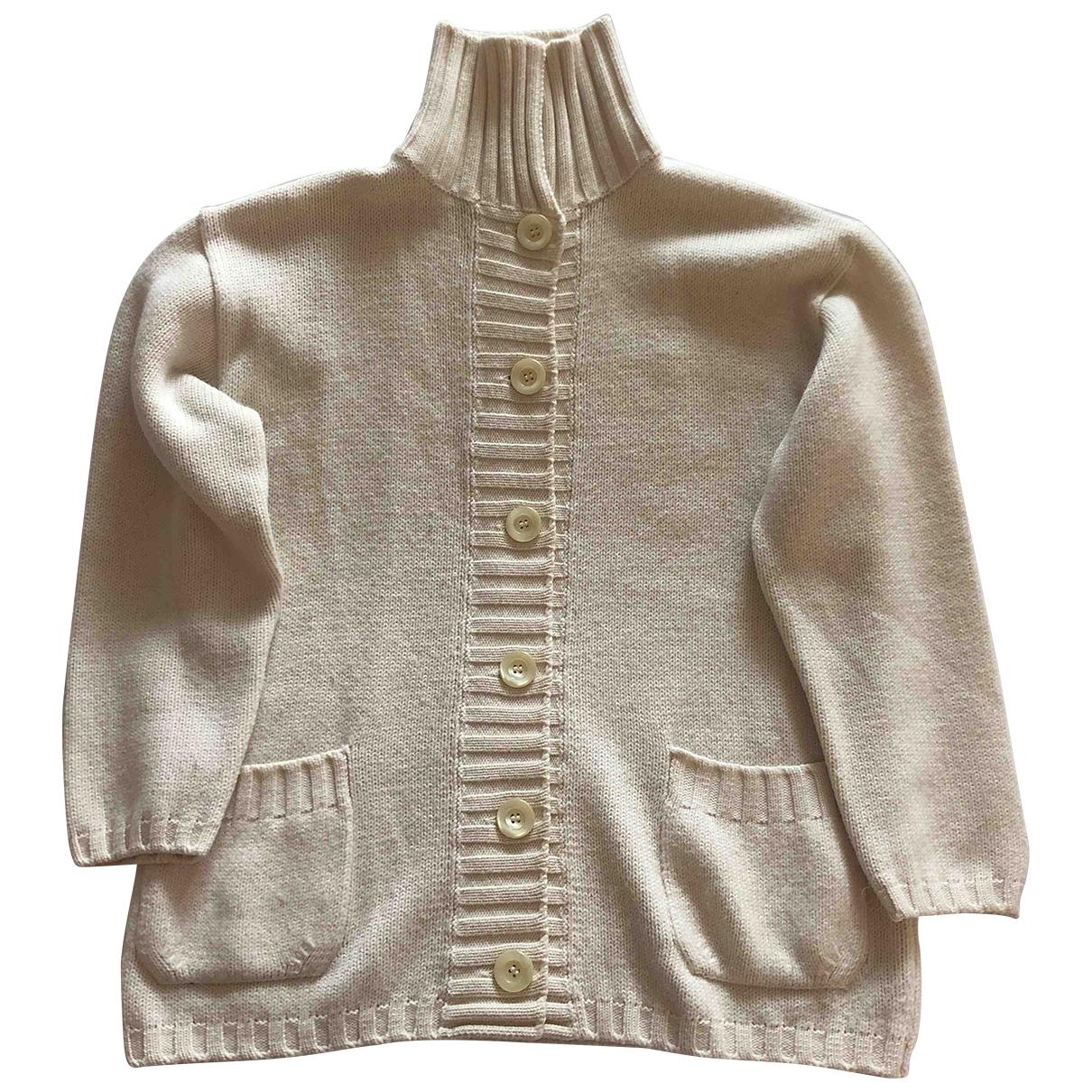 Max Mara \N Pullover in  Beige Wolle