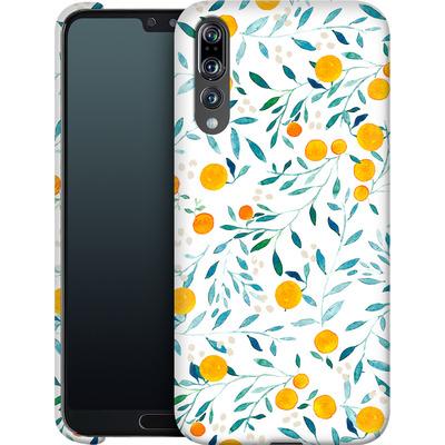 Huawei P20 Pro Smartphone Huelle - Fresh Citrus  von Iisa Monttinen