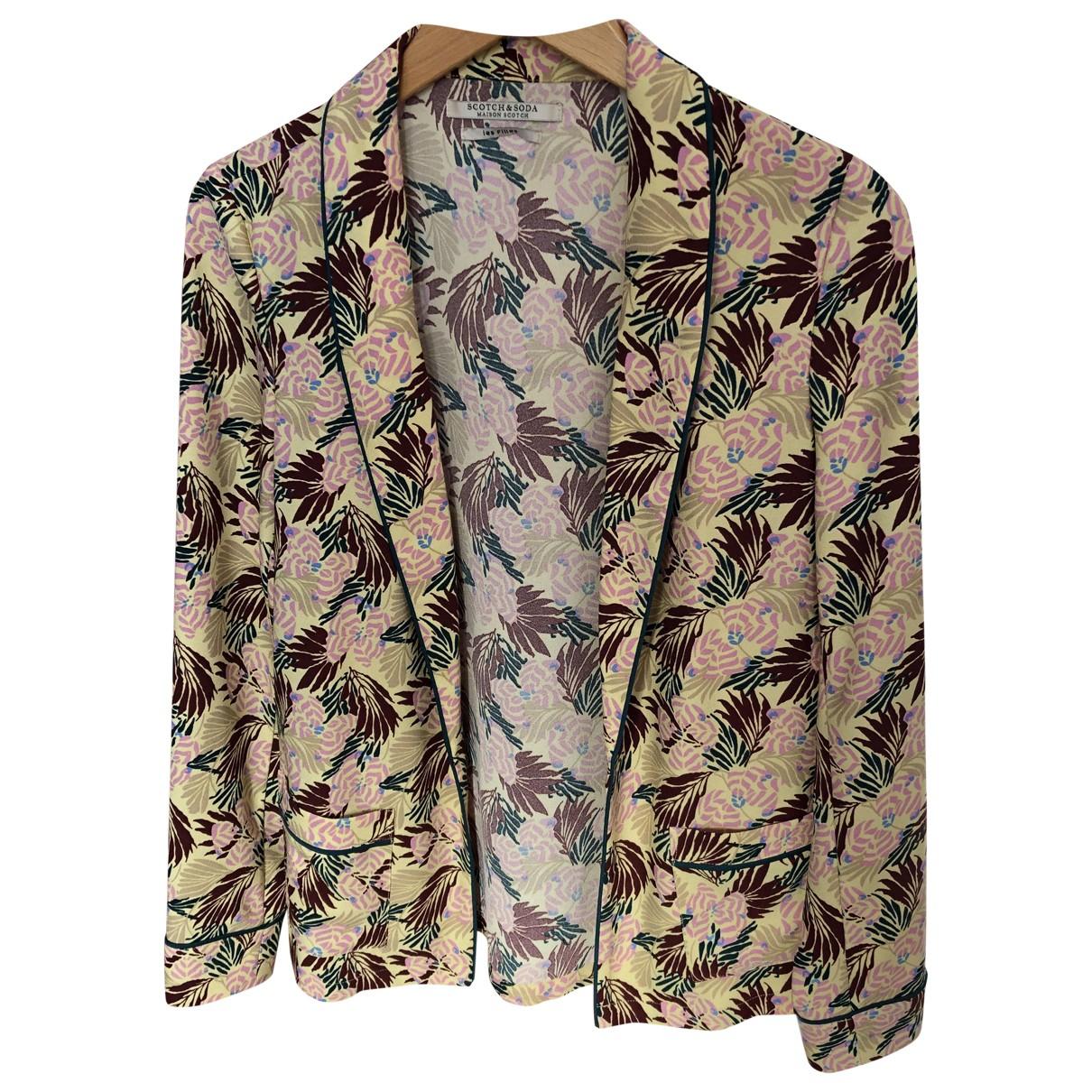 Scotch & Soda \N Multicolour jacket for Women 36 FR