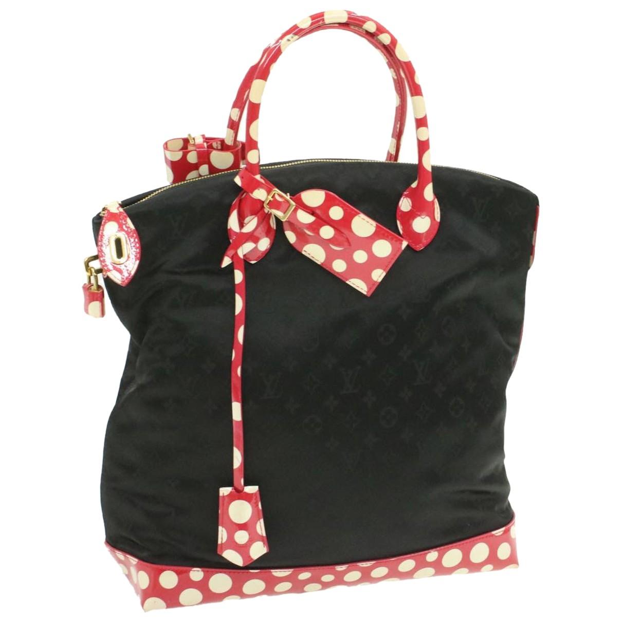 Louis Vuitton Lockit Vertical Black Cloth handbag for Women N