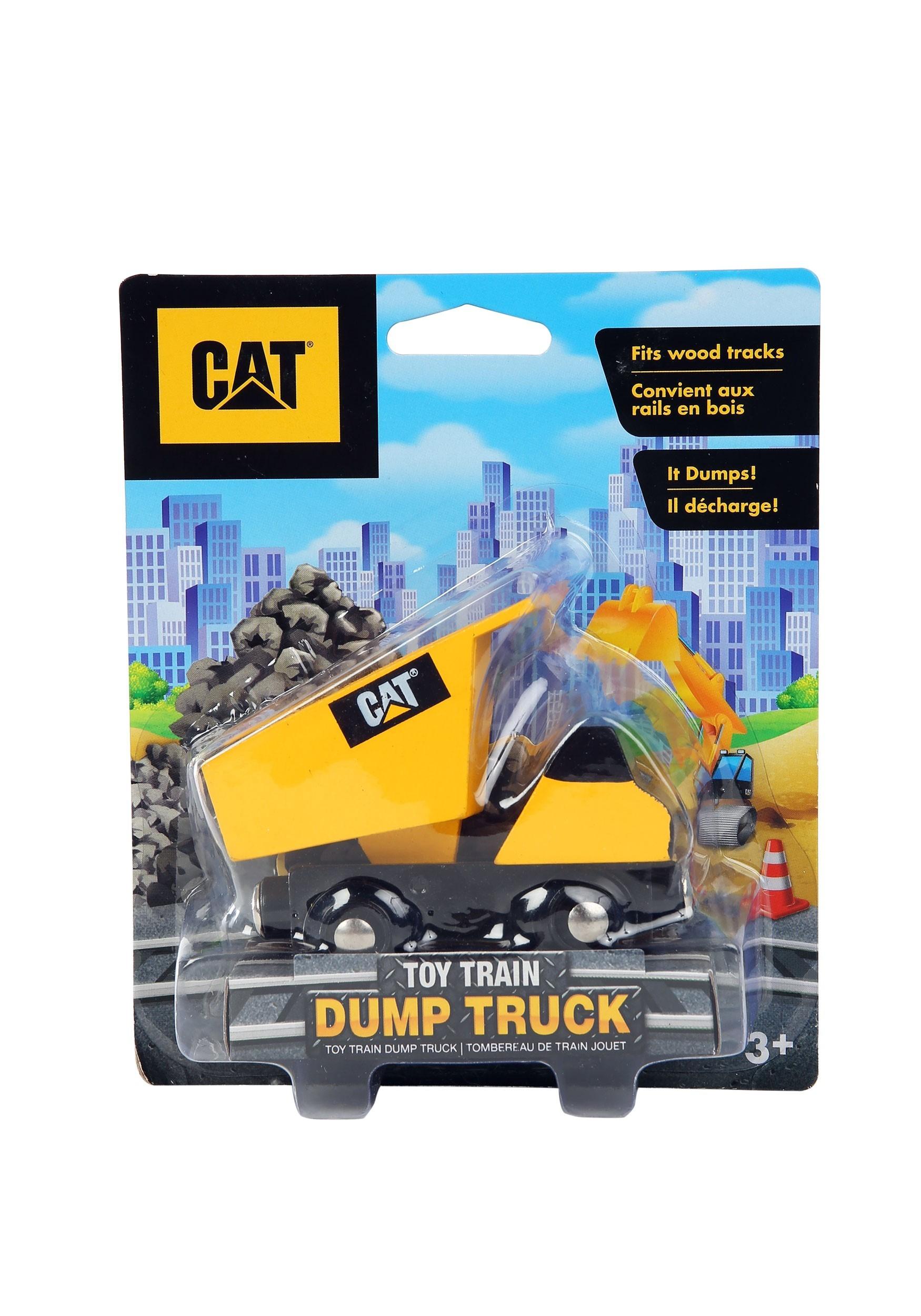 Caterpillar Toy Dump Truck Train