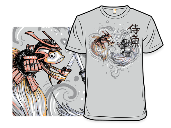 Japanese Fighting Fish Remix T Shirt