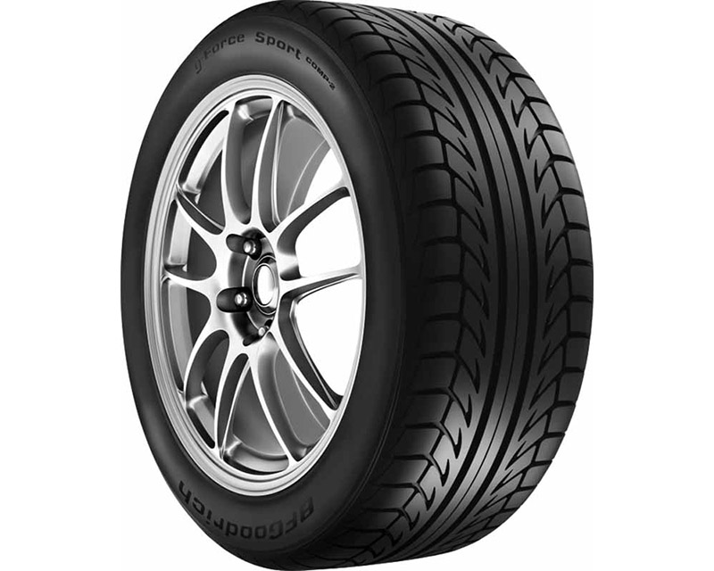 BFGoodrich 12571 G-Force Sport Comp 2 255/40ZR18 95W Tire