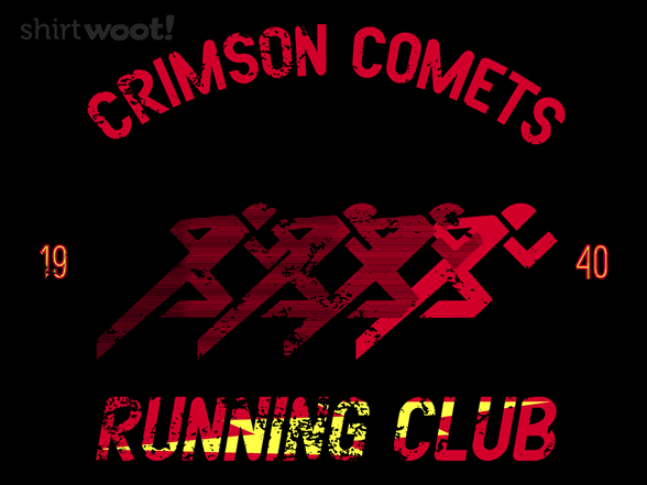 Crimson Comets T Shirt