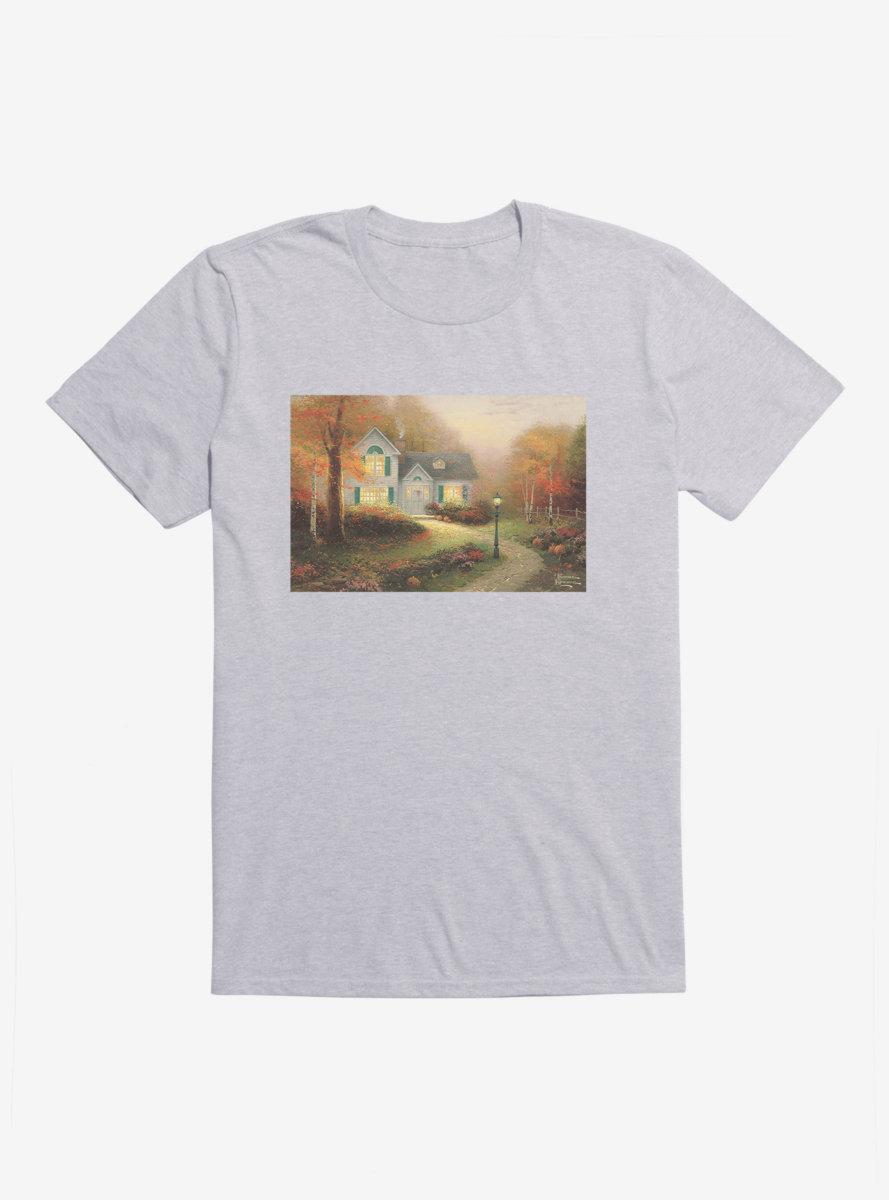 Thomas Kinkade Blessings Of Autumn T-Shirt