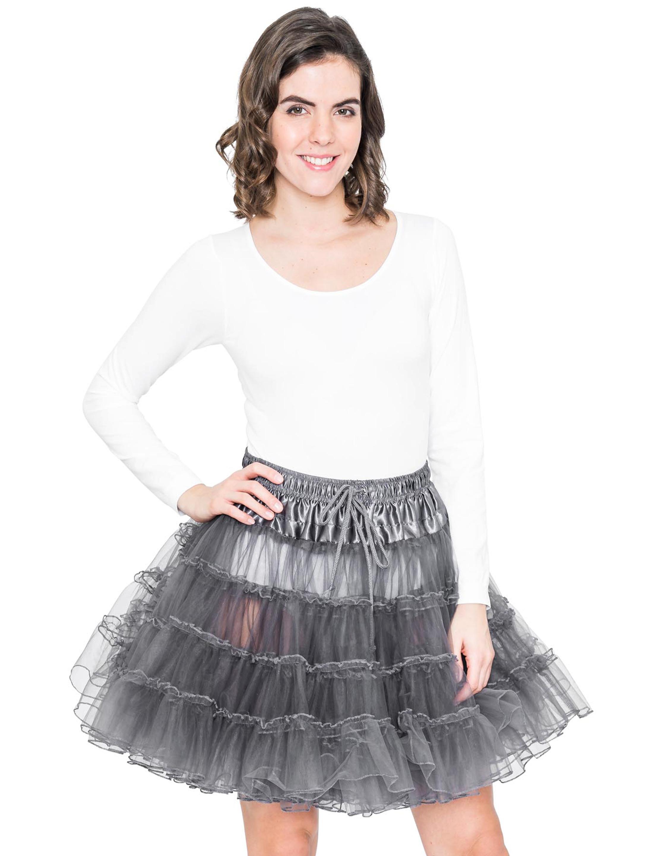 Petticoat de luxe grau