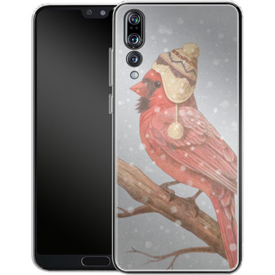 Huawei P20 Pro Silikon Handyhuelle - First Snow von Terry Fan