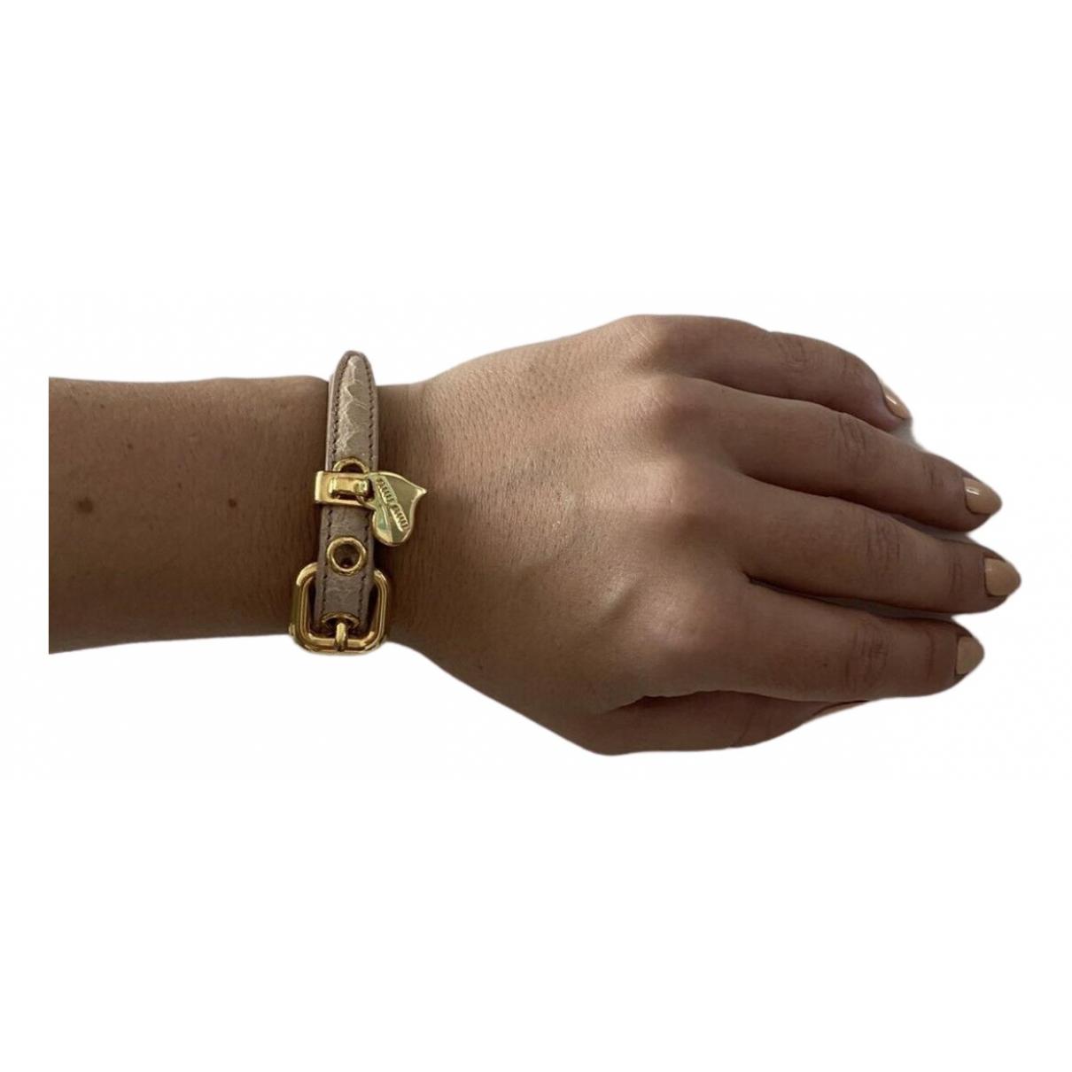 Miu Miu \N Metal bracelet for Women \N