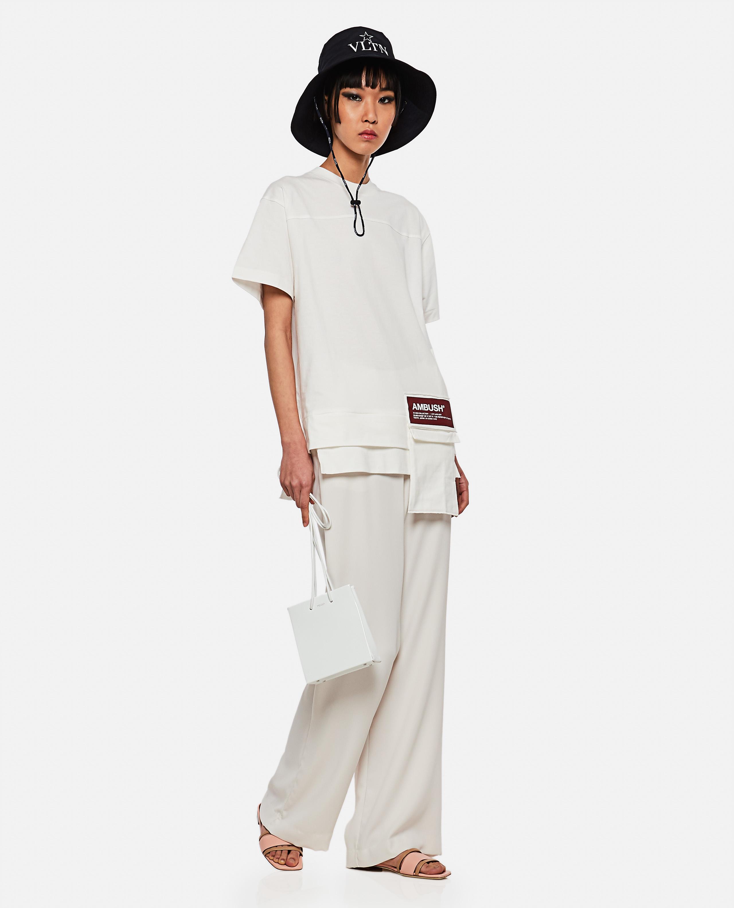 New Waist Pocket cotton  t-shirt