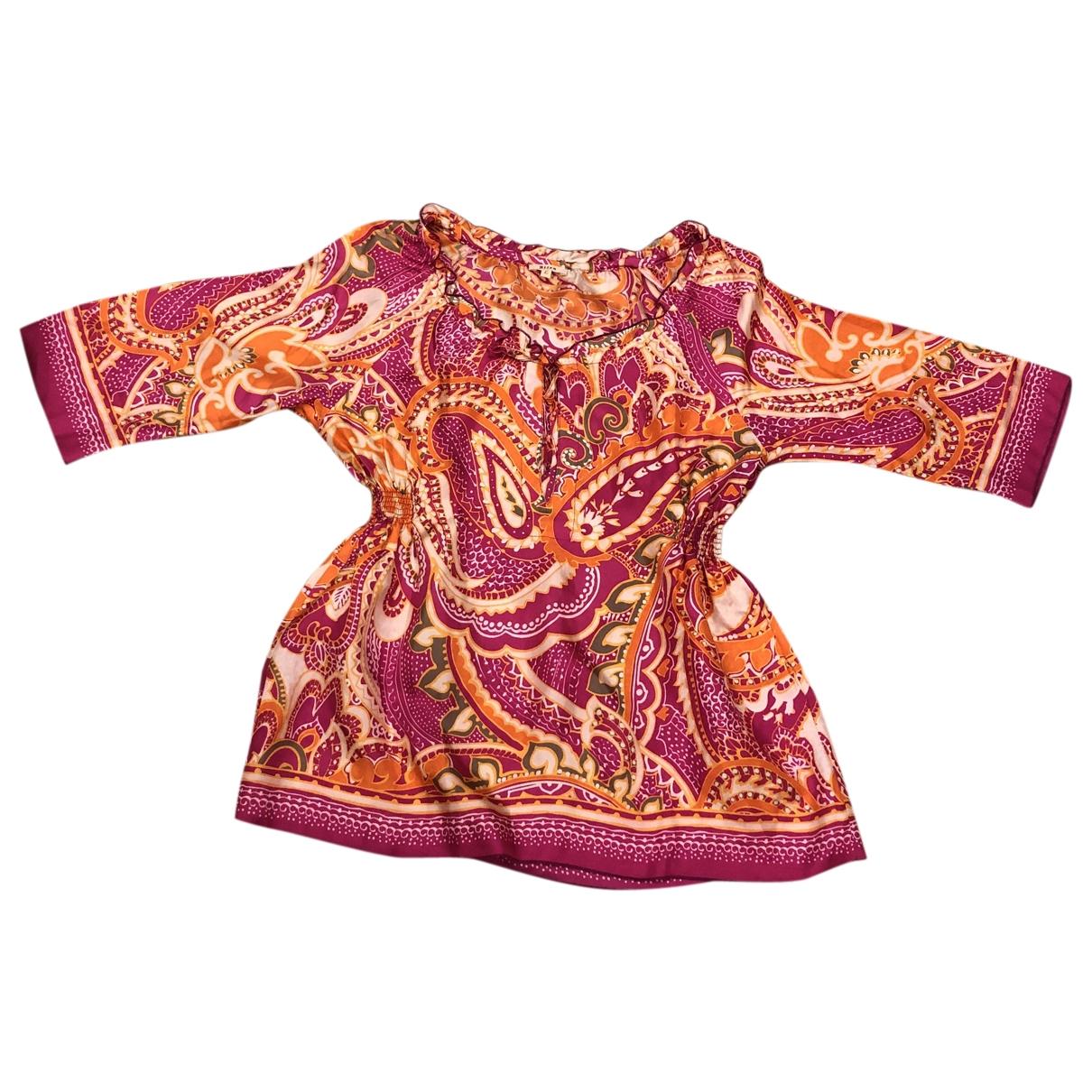 Altea - Top   pour femme en soie - rose