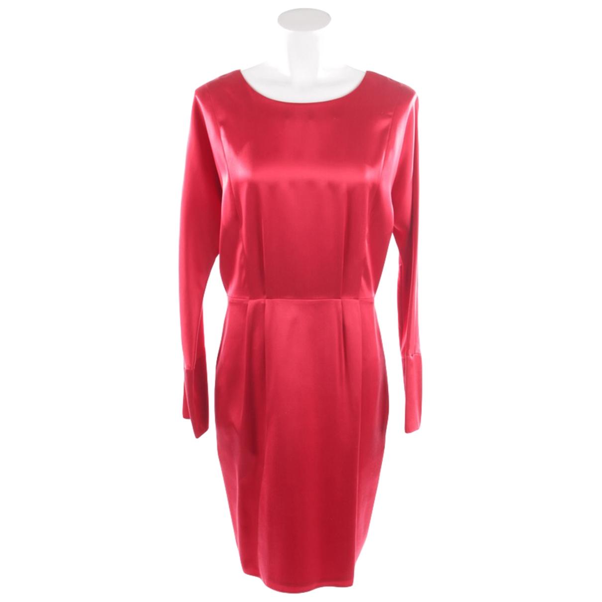 Strenesse \N Kleid in  Rot Seide