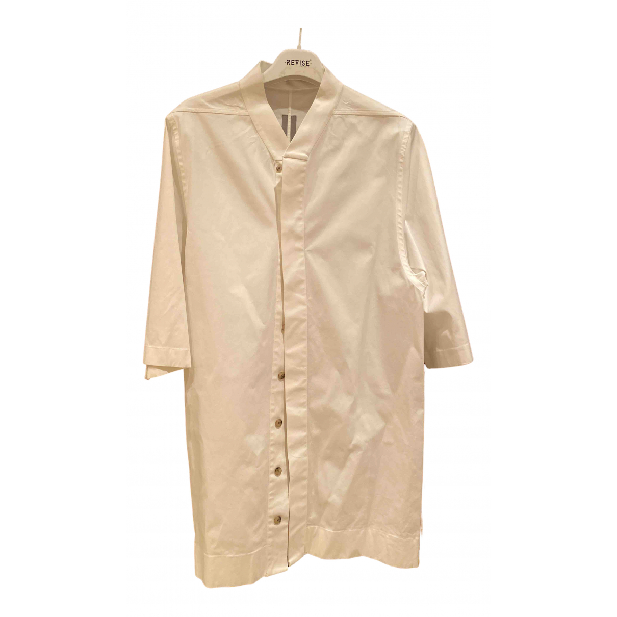 Rick Owens - Chemises   pour homme en coton - blanc