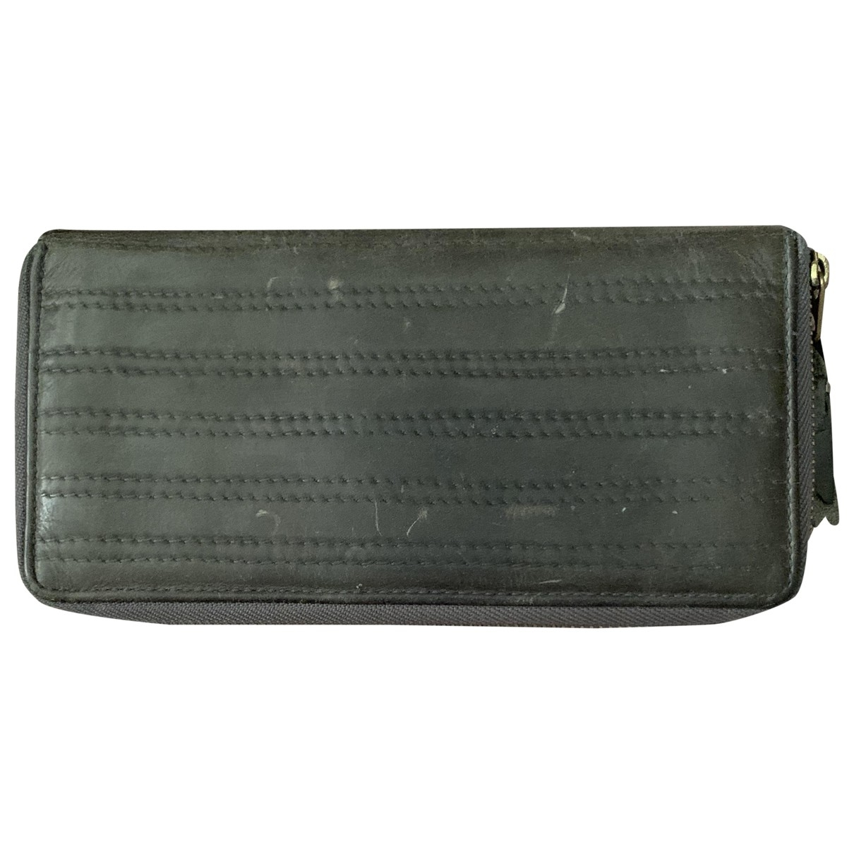 Comme Des Garcons \N Grey Leather wallet for Women \N