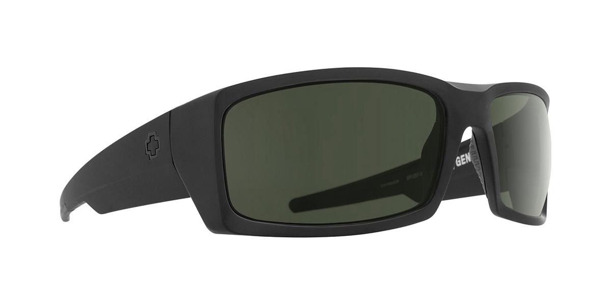 Spy General 673118243863 Mens Sunglasses Black Size 66