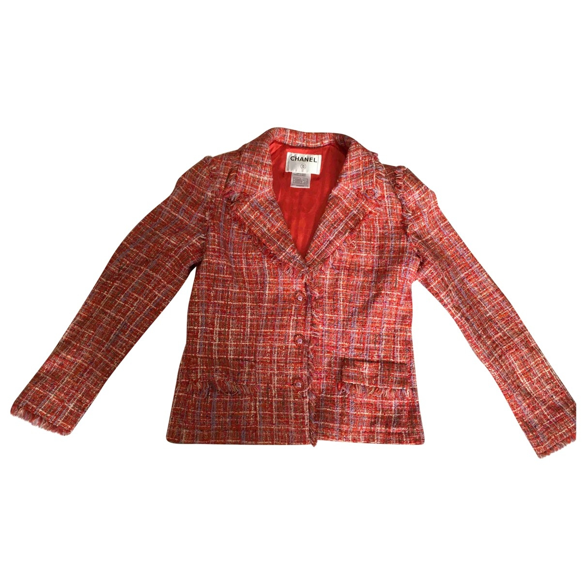 Chanel \N Multicolour Cotton jacket for Women 42 FR