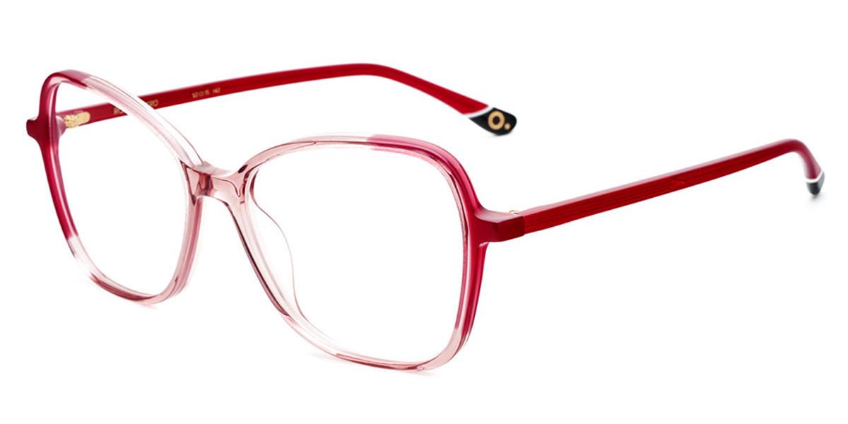 Etnia Barcelona Rose PKRD Women's Glasses Red Size 52 - Free Lenses - HSA/FSA Insurance - Blue Light Block Available