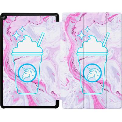 Amazon Fire HD 10 (2018) Tablet Smart Case - Unicorn Frappuccino von caseable Designs