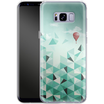 Samsung Galaxy S8 Plus Silikon Handyhuelle - Emerald City von Little Clyde