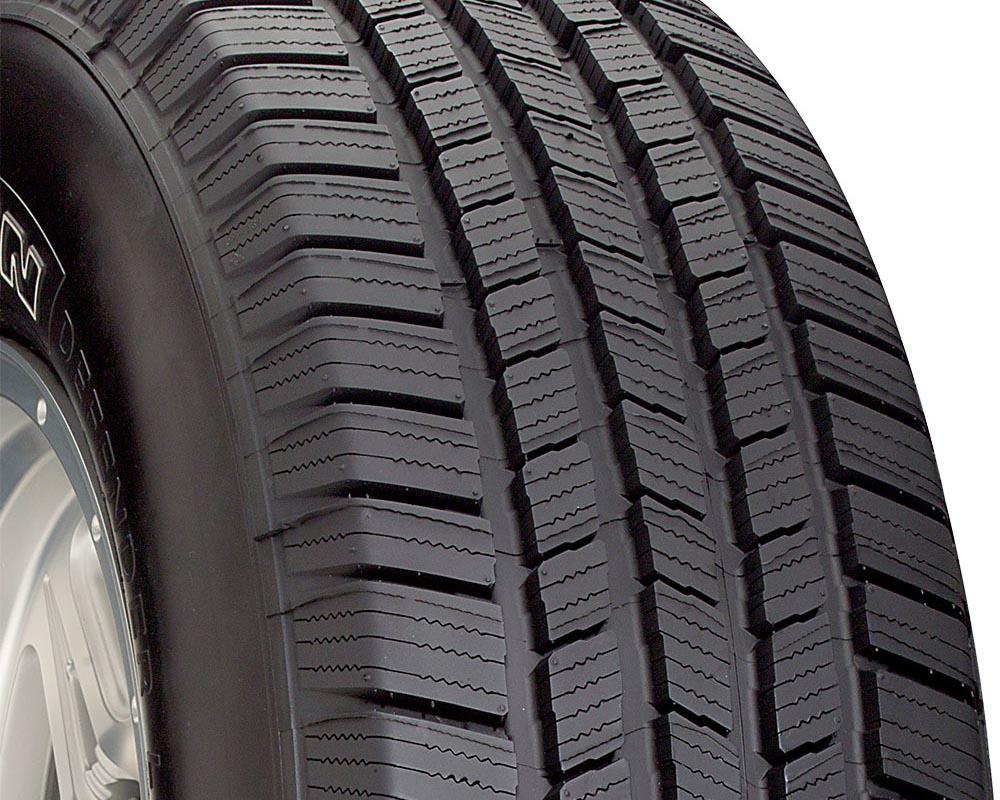 Michelin 42587 Defender LTX M/S Tire 255/70 R16 111T SL OWL
