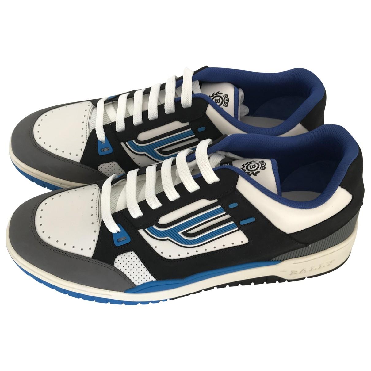 Bally \N Sneakers in  Weiss Leder