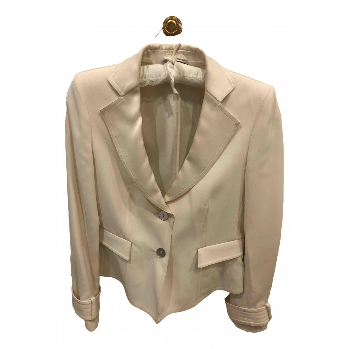 Emporio Armani - Veste   pour femme - blanc