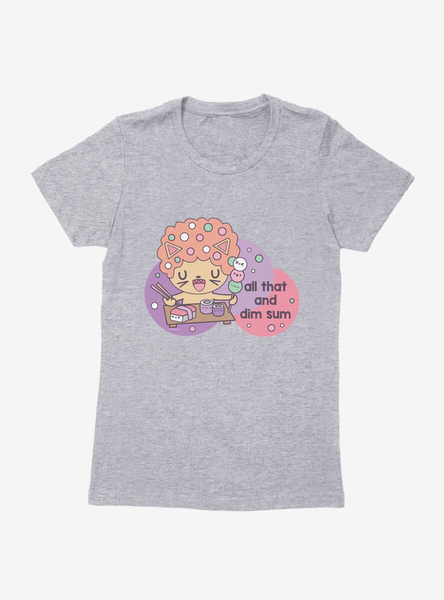Afro Cat All That And Dim Sum Womens T-Shirt
