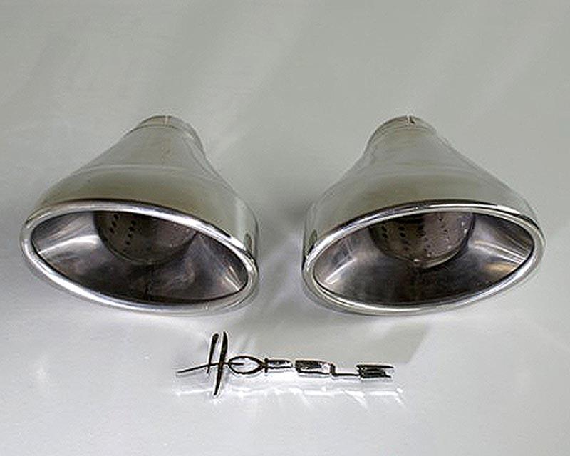 Hofele HF 7466 EVO Sport Oval Tailpipe Kit Porsche 996 Carrera 98-01