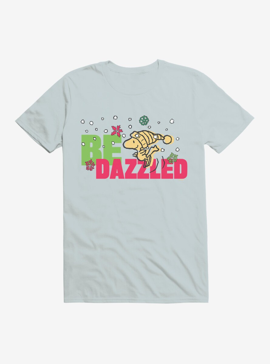 Peanuts Christmas Woodstock Be Dazzled T-Shirt