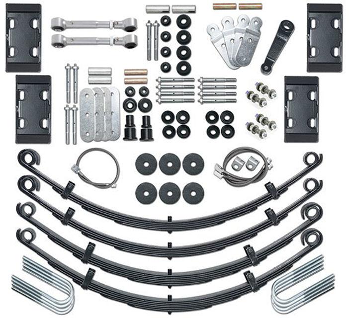 CJ Lift Kit Extreme Duty 4.5 Inch No Shocks 76-86 Jeep CJ5, CJ7, Scrambler CJ Rubicon Express RE5525