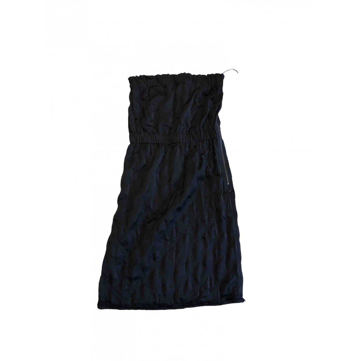 Lanvin \N Kleid in  Schwarz Polyester