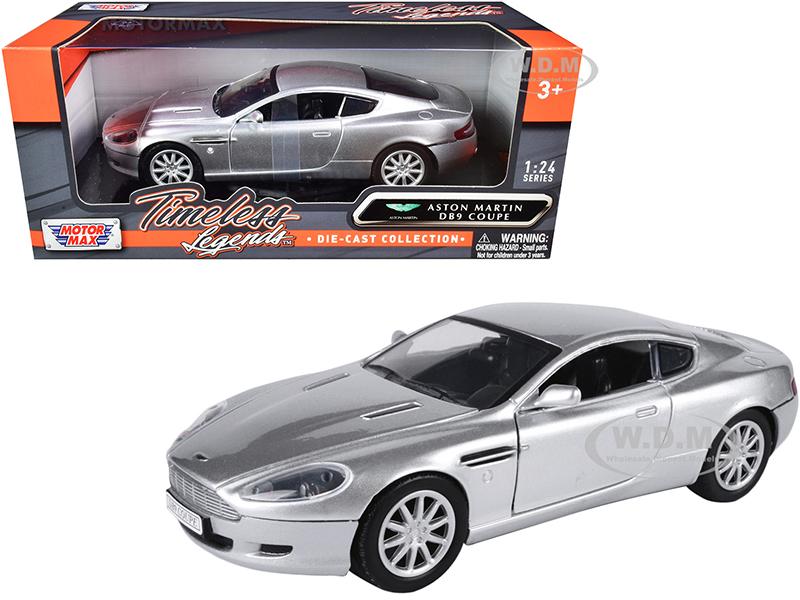 Aston Martin DB9 Coupe Silver Metallic
